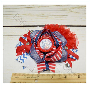 God Bless U.S.A Boutique Bow - BargainBows