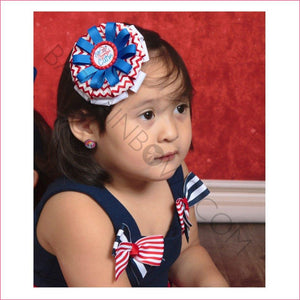 Star Spangled Cutie Boutique Bow, hair bows BargainBows