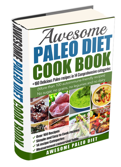Awesome paleo diet cook book my favorite shop online awesome paleo diet cook book forumfinder Images