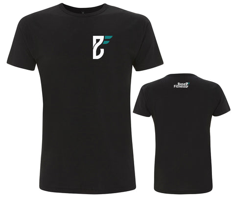 Base Fitness Black Bamboo T-shirt