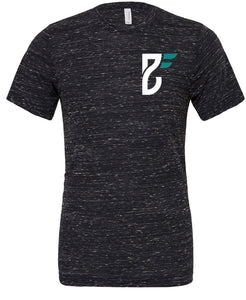 Base Fitness Black Marble T-shirt