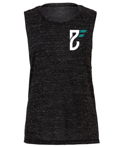 Base Fitness Black Marble Muscle Tank