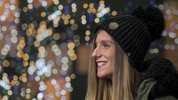 *NEW* Nighttime Sparkle - LIMITED EDITION - Luxury Fleece Lined Bobble Hat *BACK IN STOCK 12th DECEMBER*