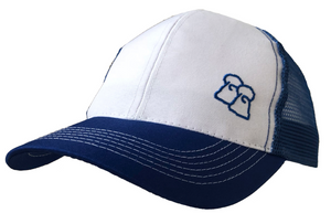 Polar Cap - Blue & White Trucker Cap