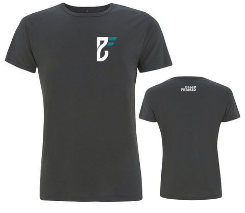 Base Fitness Charcoal Bamboo Grey T-shirt