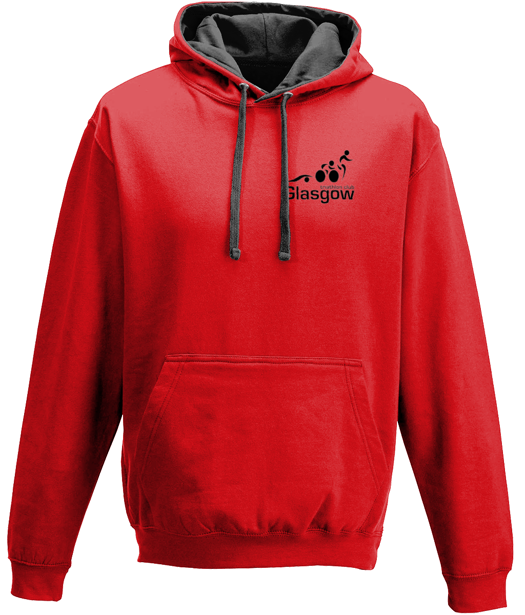 Glasgow Triathlon Club - Red Hoodie