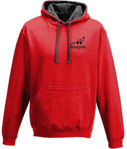 Glasgow Triathlon Club - Basic Red Hoodie