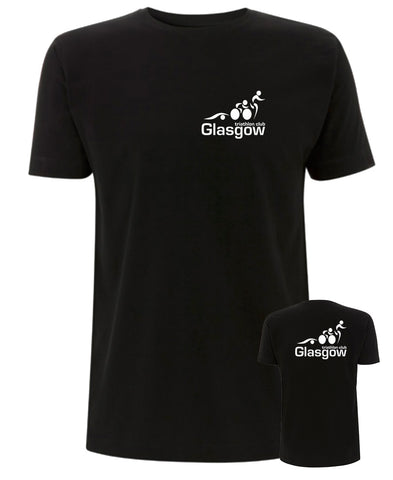 Glasgow Triathlon Club Technical Black T-Shirt