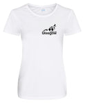 Glasgow Triathlon Club Ladies Technical White T-Shirt