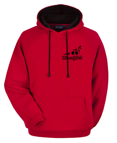Glasgow Triathlon Club - Premium Red Hoodie