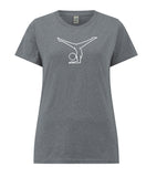 Women's Yoga Splits T-Shirt