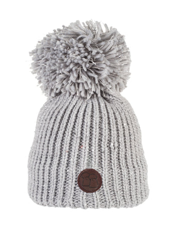 Iced Sparkle - Luxury Fleece Lined Bobble Hat - BACK BY POPULAR DEMAND!
