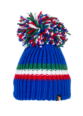 Italian Stallion - Blue Bobble Hat