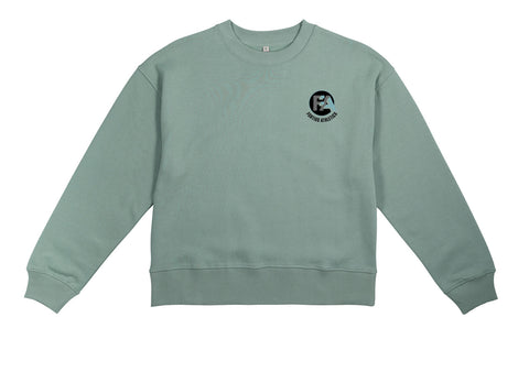 Fortius Ladies Slate Green Sweatshirt