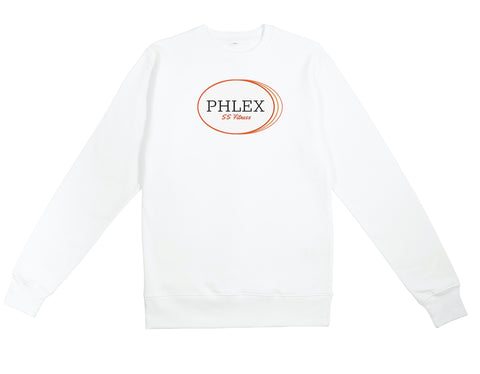 SS Fitness White Sweatshirt