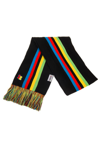 UCI Black Rainbow Scarf