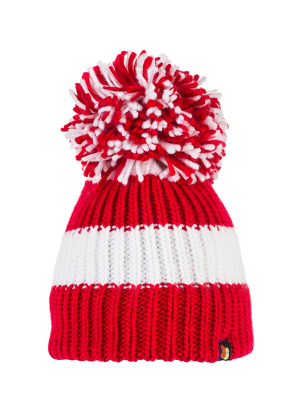 Red & White Bucket Hat (Small/Medium)