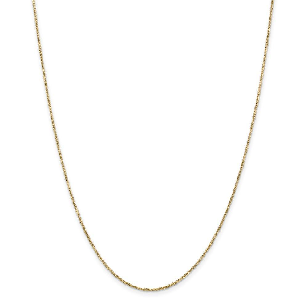 Chains 14k Yellow Gold 1.10mm Polished Ropa Chain