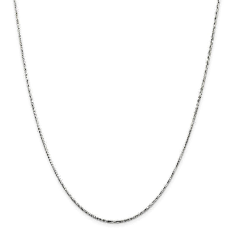 Chains Silver D.C 1.50-mm Round Snake Chain