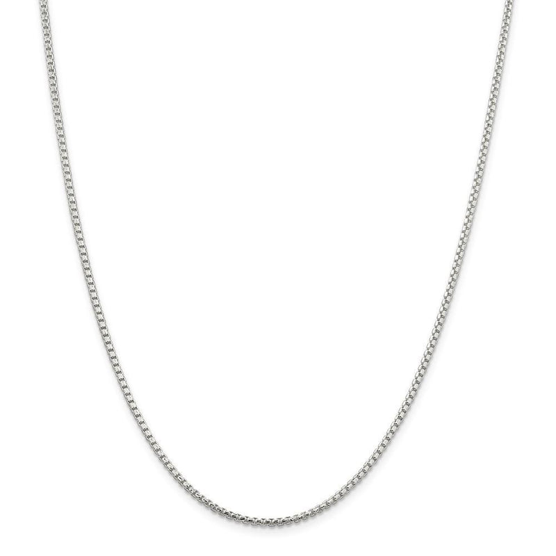 Chains Silver D.C 2.00-mm Round Fancy Box Chain