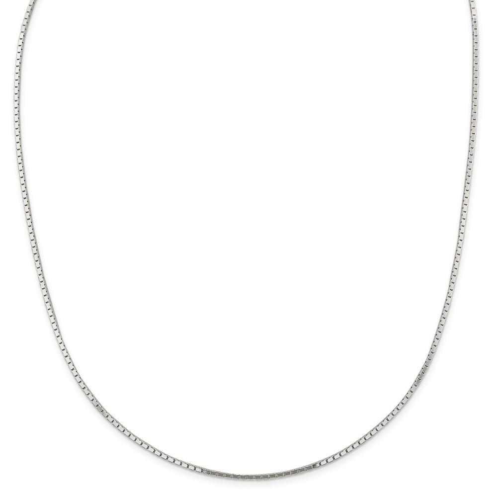 Chains Silver Polished 1.50-mm Mirror Box Chain