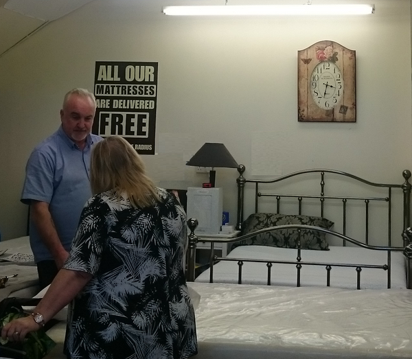 Cozy Dream Beds Customers Buying Fusion Health Mattress