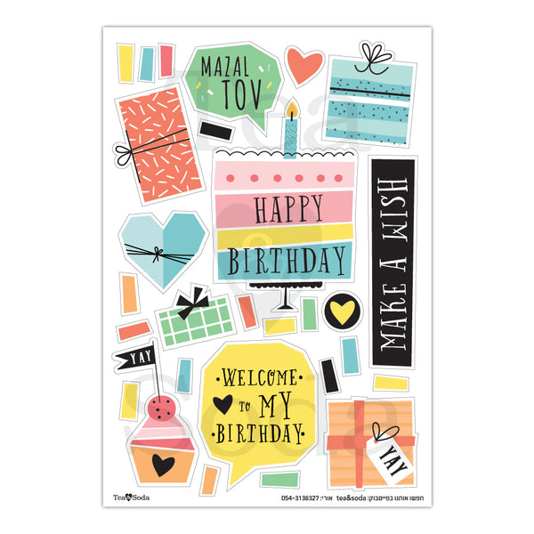 Stickers - Birthday album