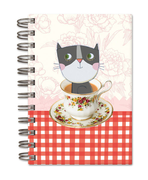 Tea party - small notebook
