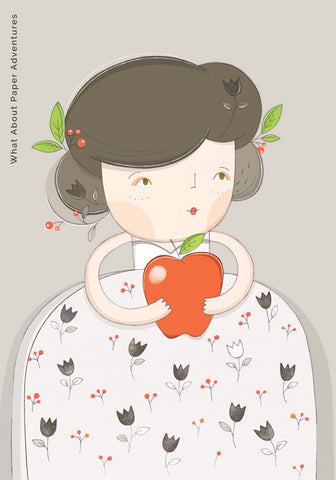 Lady With Apple