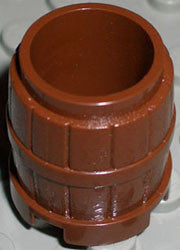 Brown Container, Barrel 2 x 2 x 2