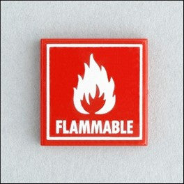 Flammable Tile, 2x2