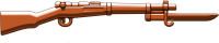 Arisaka with Bayonet (Brown)