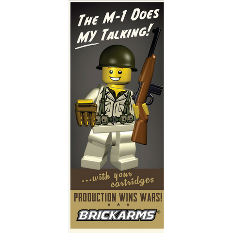 Brickarms US WW2 Soldier - Pvt Carpetti