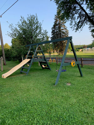 Swing Set Makeover