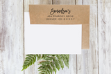Custom Return Address Rubber Stamp 1105