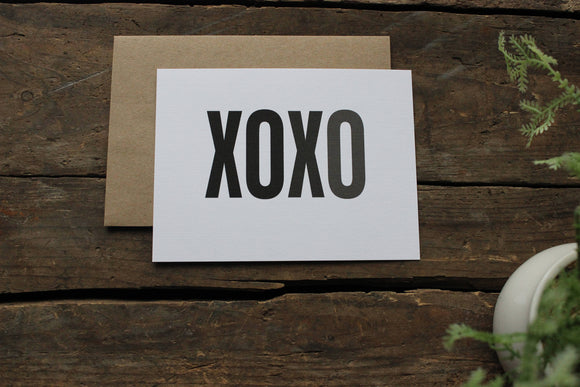 XOXO Ombre Thank You Cards Set of 10