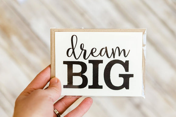 Dream Big Thank You Cards