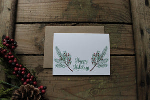 Happy Holidays Cards
