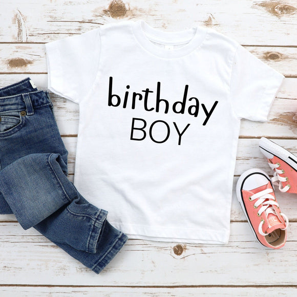Birthday Boy Toddler Kid Youth Shirt