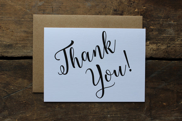 Multi Use Thank You Cards Set of 10
