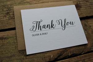 Wedding Thank You Script