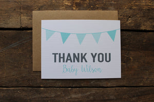 Personalized Baby Shower Thank You Cards