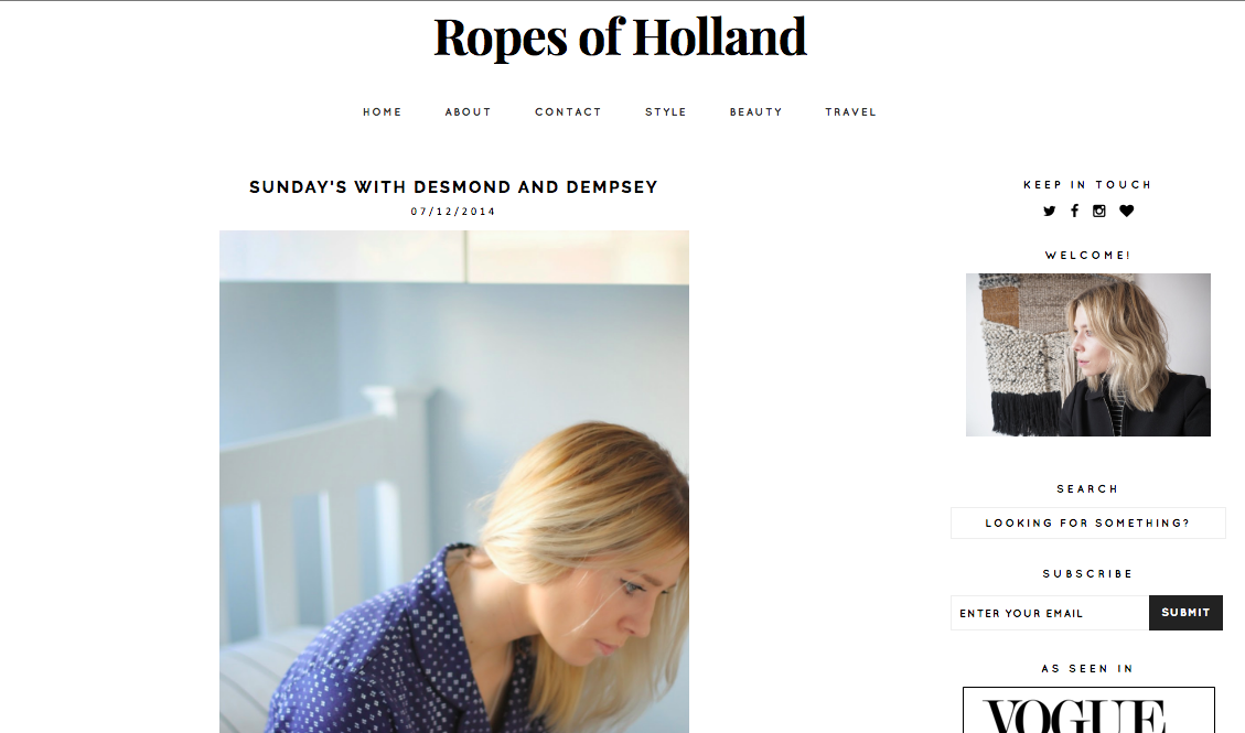Ropes of Holland, 2014