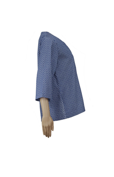 Iro denim kimono with dots *Find it at www.naaiantwerp.com #NaaiAntwerp