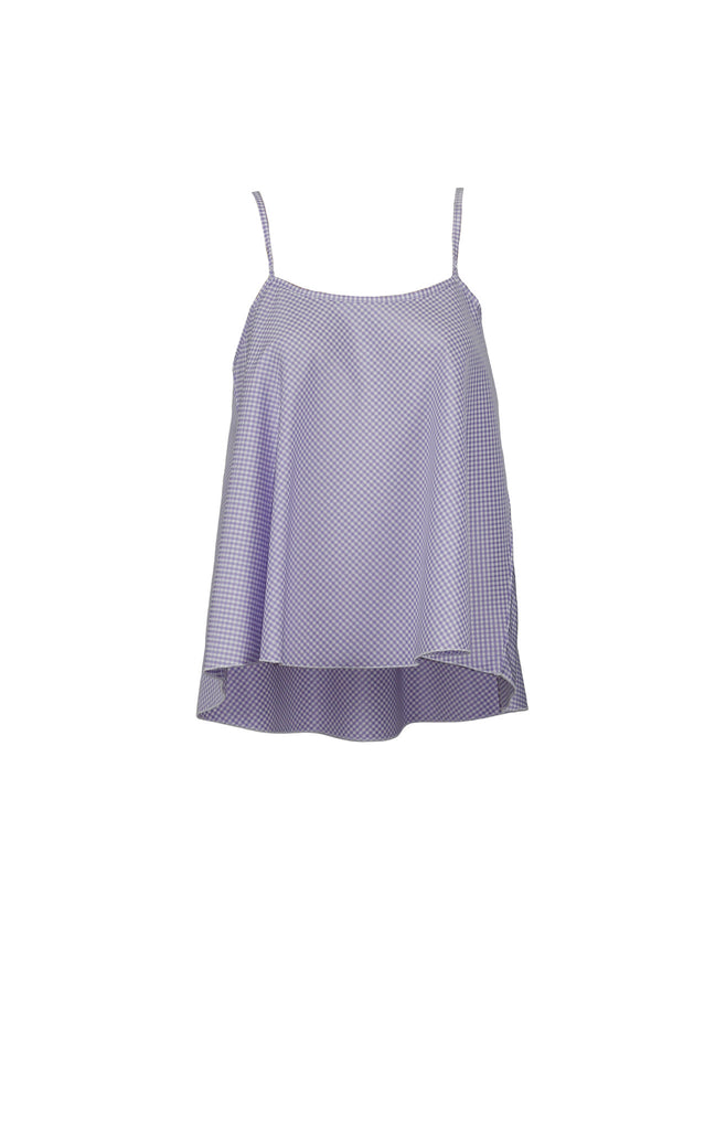 Marilyn purple checkered top www.naaiantwerp.com
