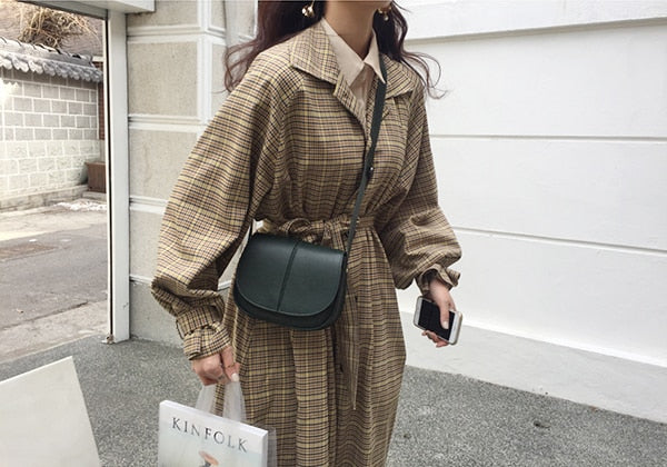 Retro chic trench