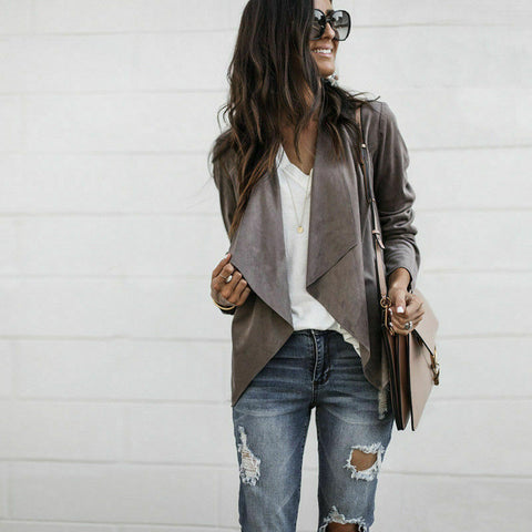 Loose casual jacket
