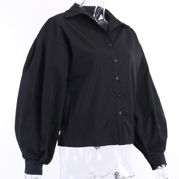 Lantern sleeve shirt