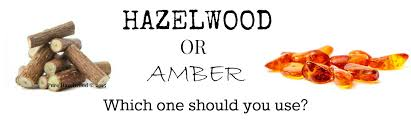 Baltic Amber vs Hazelwood