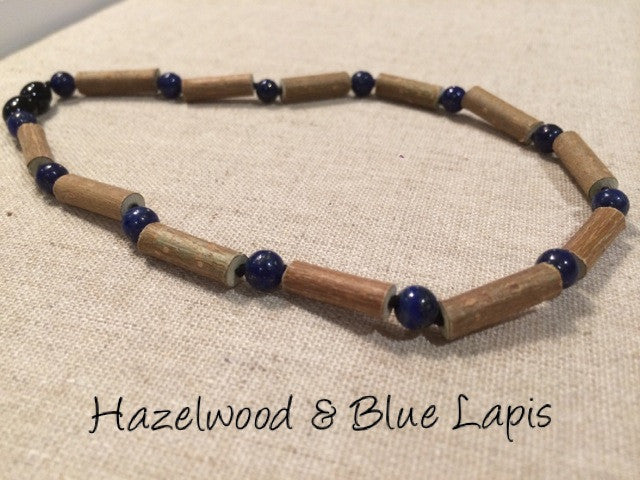 Hazelwood and Blue Lapis Lazuli for Stress, Anxiety, and ADHD